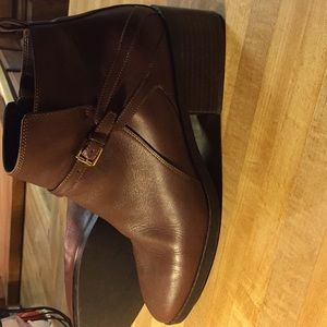 Cole Hann Brown booties